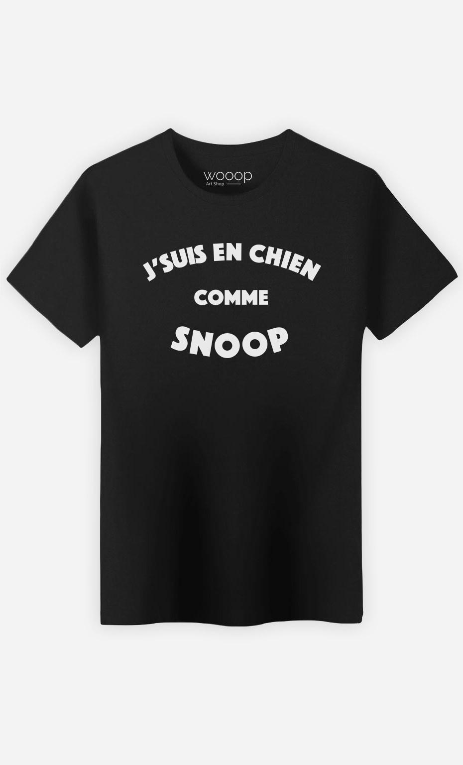 T-Shirt J'suis en Chien comme Snoop