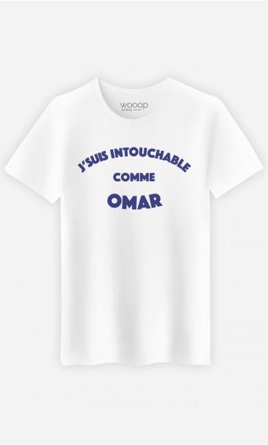 T-Shirt Homme J'suis Intouchable comme Omar