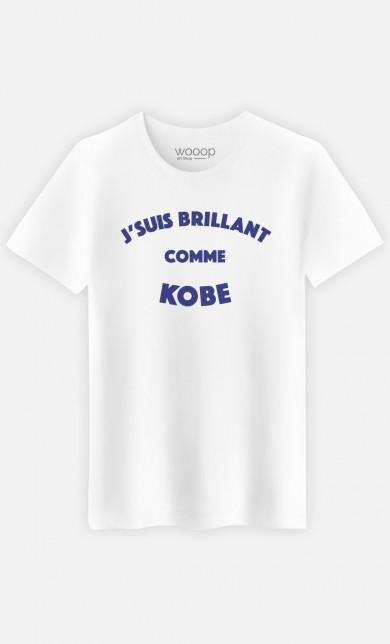 T-Shirt J'suis Brillant comme Kobe