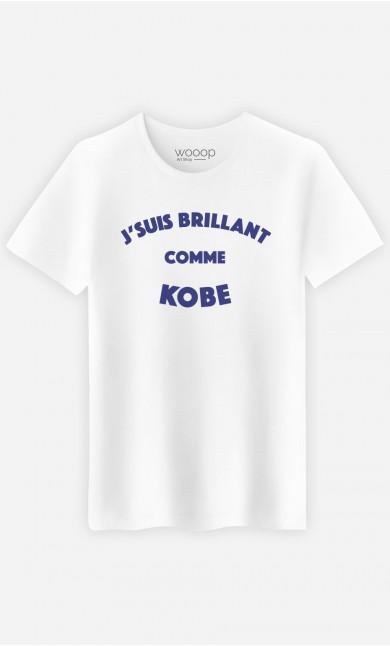 T-Shirt Homme J'suis Brillant comme Kobe