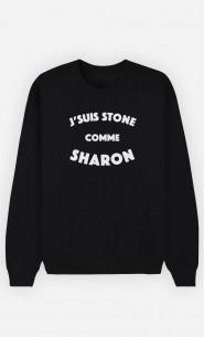 Sweat Femme J'suis Stone comme Sharon
