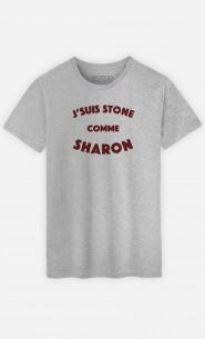 T-Shirt Homme J'suis Stone comme Sharon