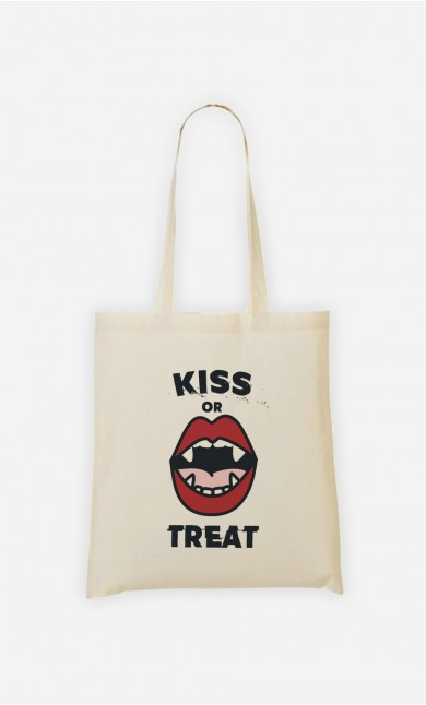 Tote Bag Kiss or Treat