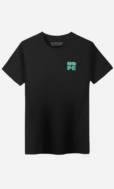 T-Shirt Nope - brodé