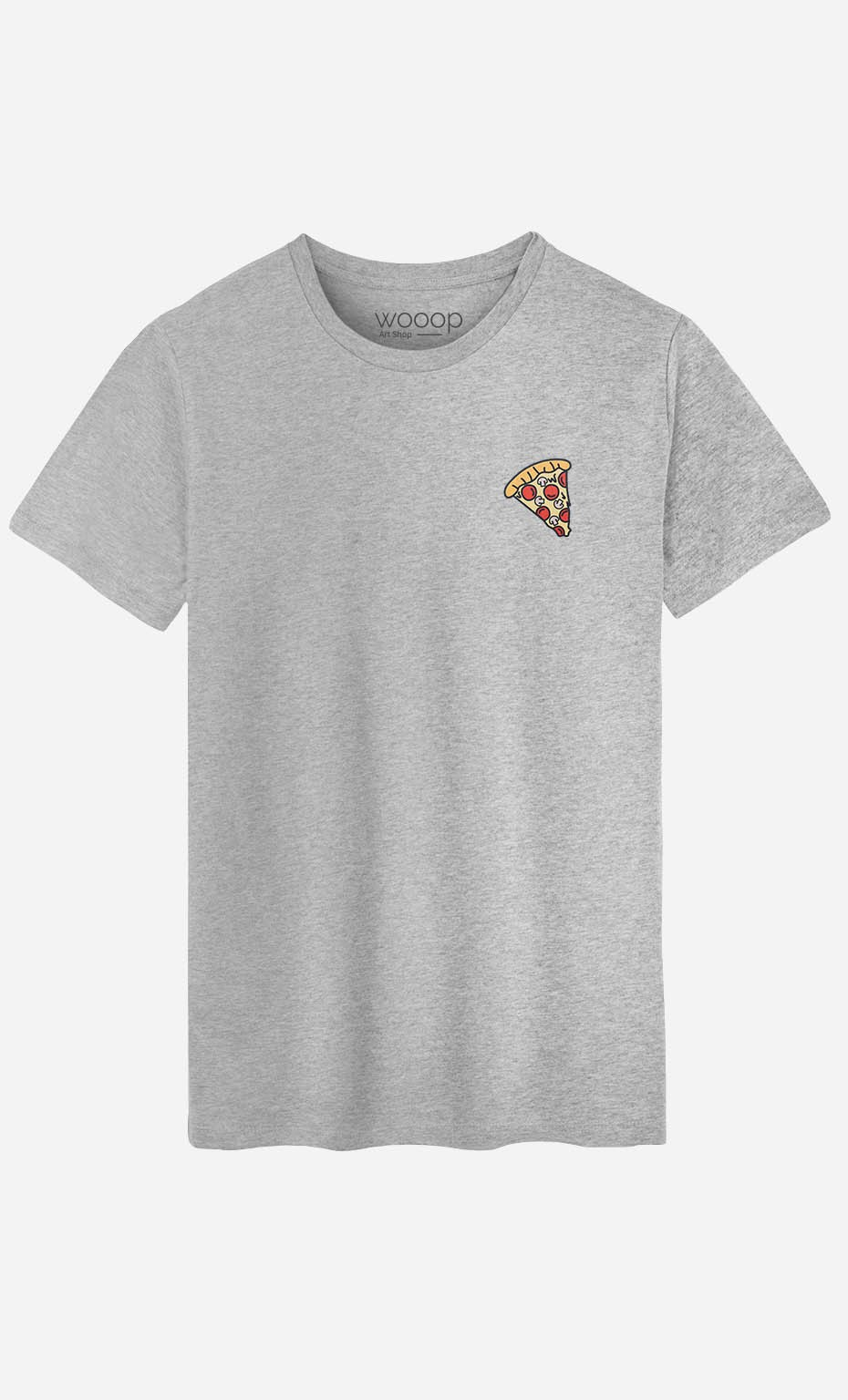 T-Shirt Pizza - brodé