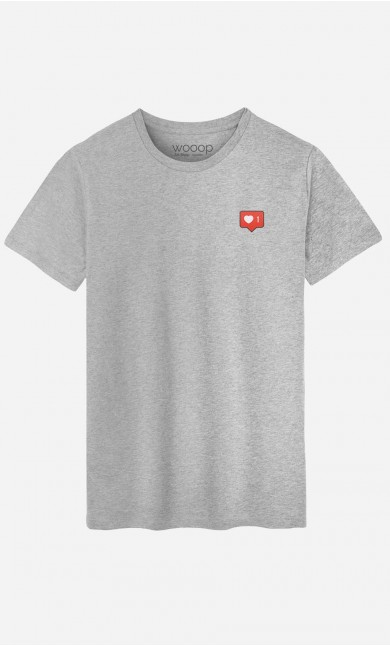 T-Shirt Homme Instagram - brodé