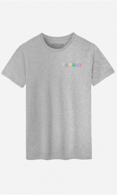 T-Shirt Homme Funday - brodé