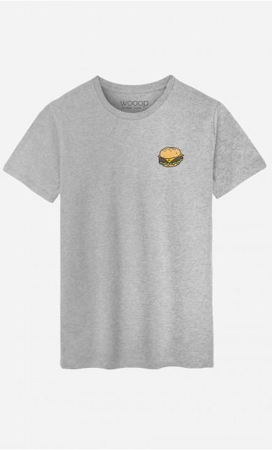 T-Shirt Homme Burger - brodé