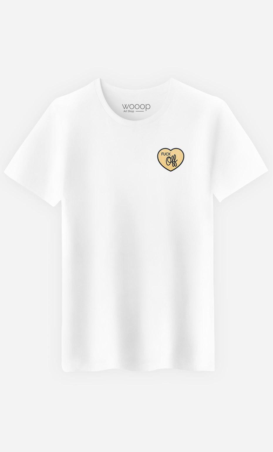 T-Shirt Fuck Off - brodé