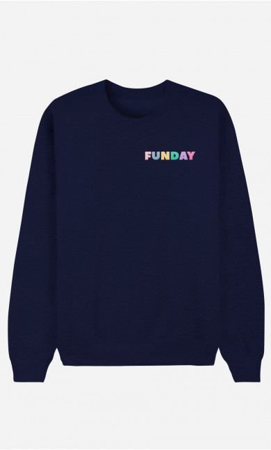 Sweat Homme Funday - brodé