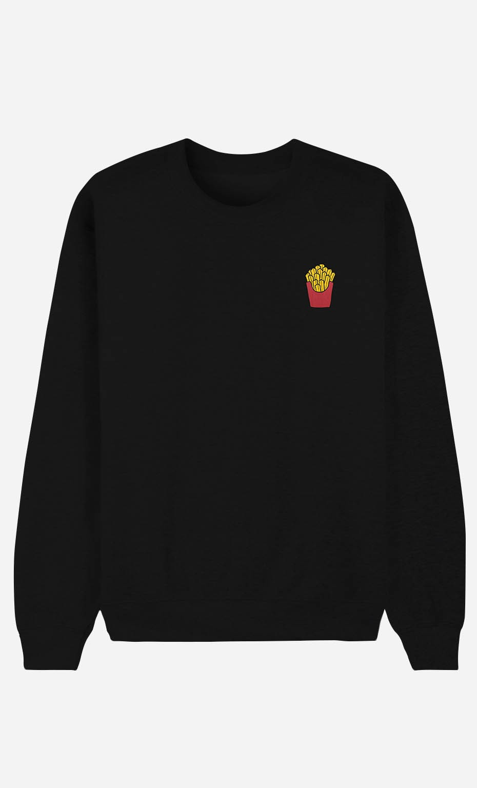 Sweat Femme French Fries - brodé