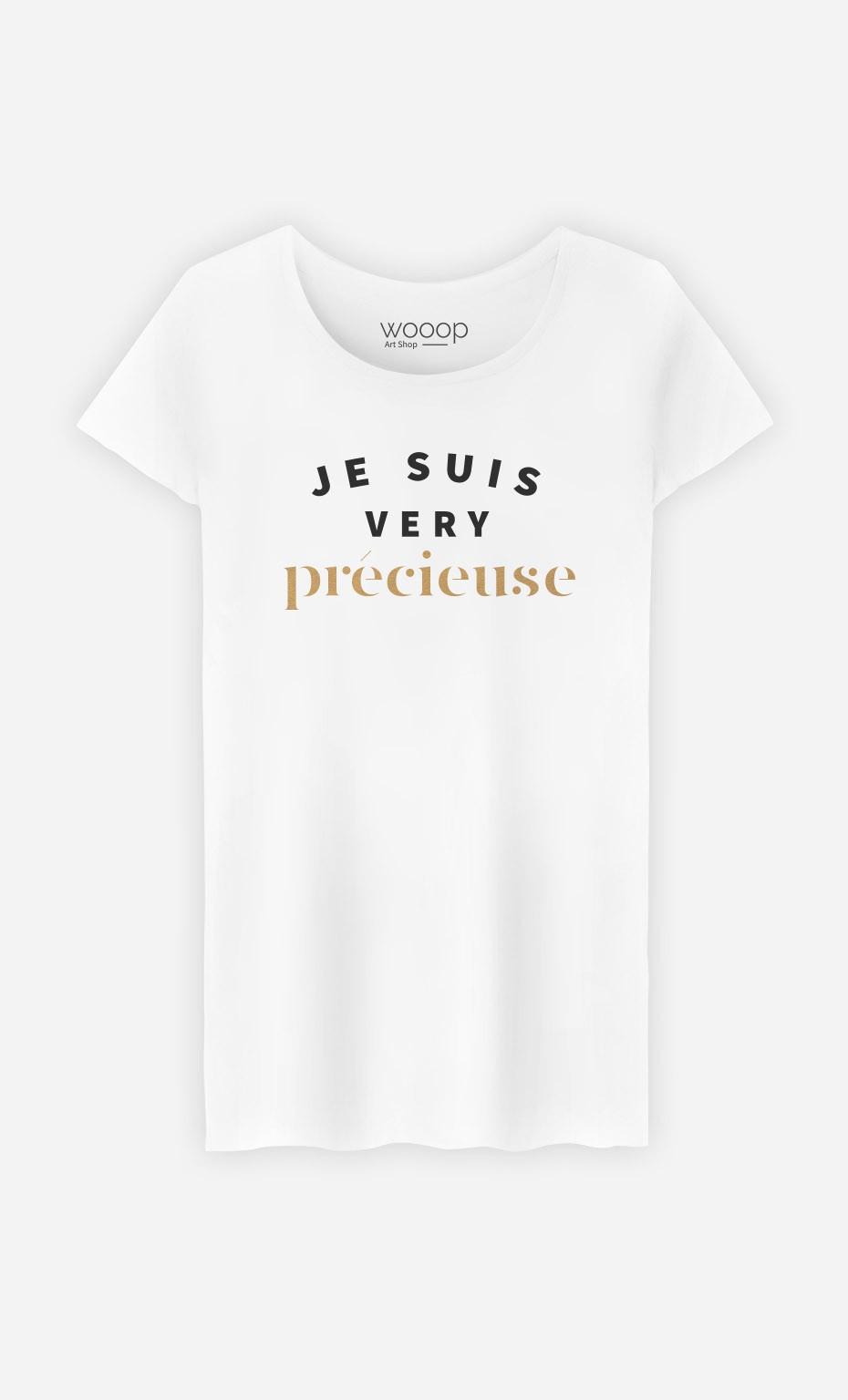 T-Shirt Je suis Very Précieuse
