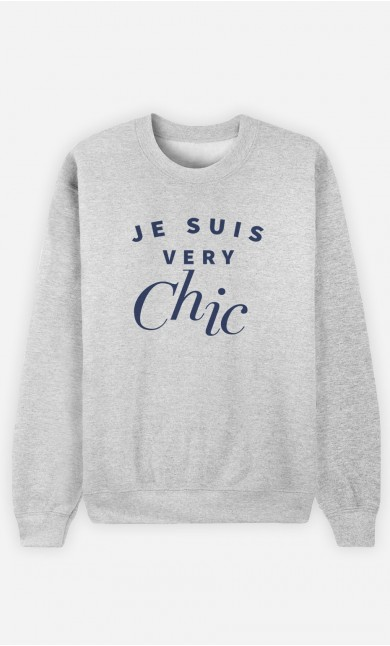 Sweat Femme Je suis Very Chic
