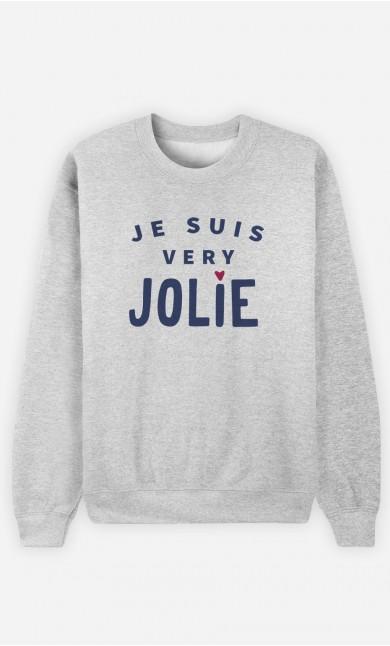 Sweat Femme Je suis Very Jolie