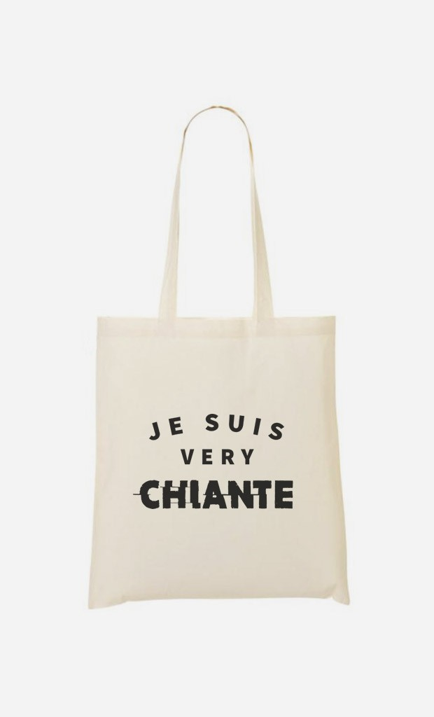 Tote Bag Je suis Very Chiante