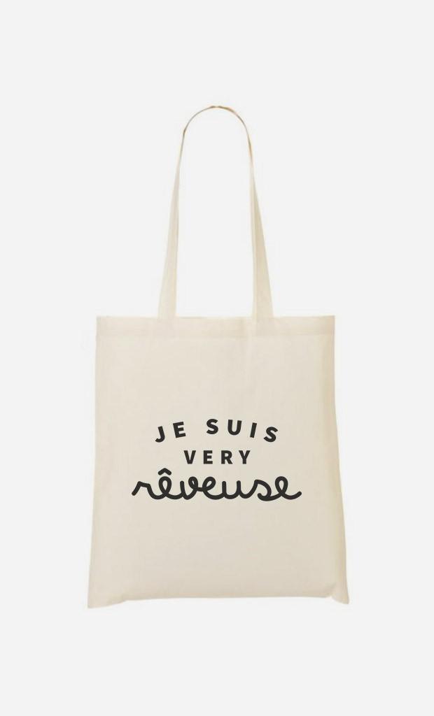 Tote Bag Je suis Very Rêveuse