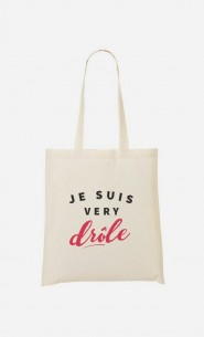 Tote Bag Je suis Very Drôle
