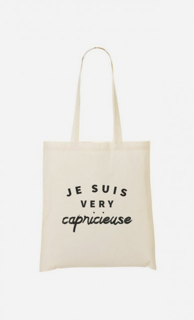 Tote Bag Je suis Very Capricieuse