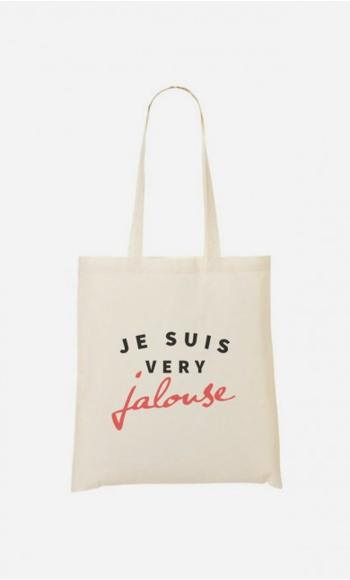 Tote Bag Je suis Very Jalouse