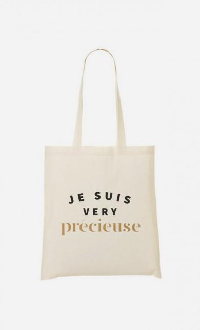 Tote Bag Je suis Very Précieuse