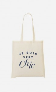 Tote Bag Je suis Very Chic
