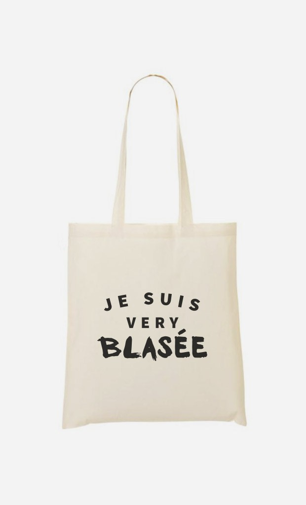 Tote Bag Je suis Very Blasée