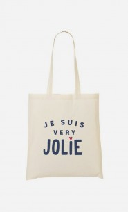 Tote Bag Je suis Very Jolie