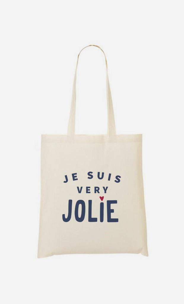 Tote Bag Je suis Very Jolie