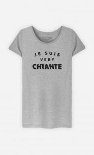 T-Shirt Femme Je suis Very Chiante