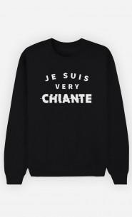 Sweat Noir Je suis Very Chiante