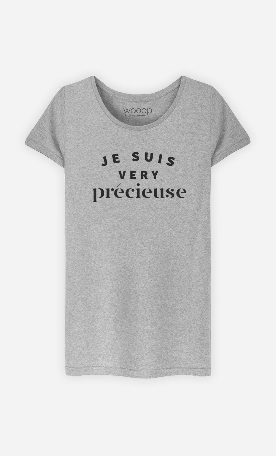 T-Shirt Femme Je suis Very Précieuse