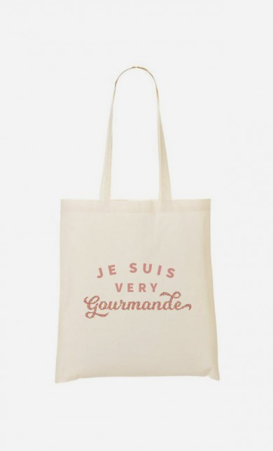 Tote Bag Je suis Very Gourmande