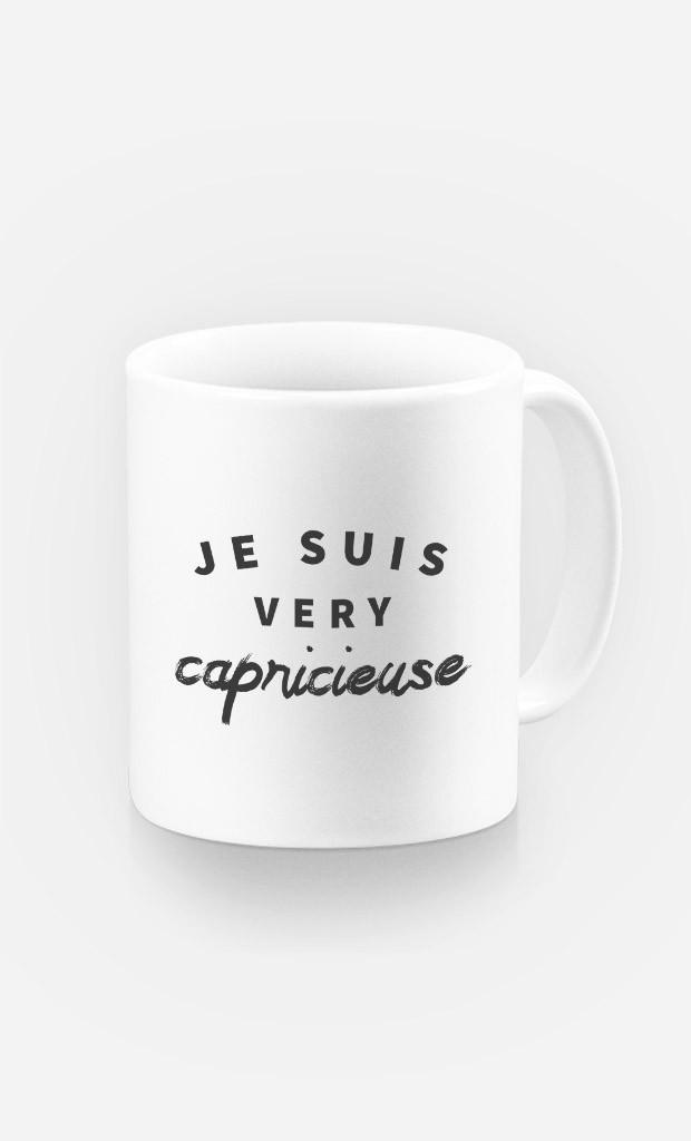 Mug Je suis Very Capricieuse