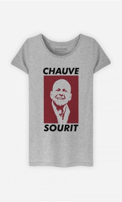T-Shirt Chauve Sourit