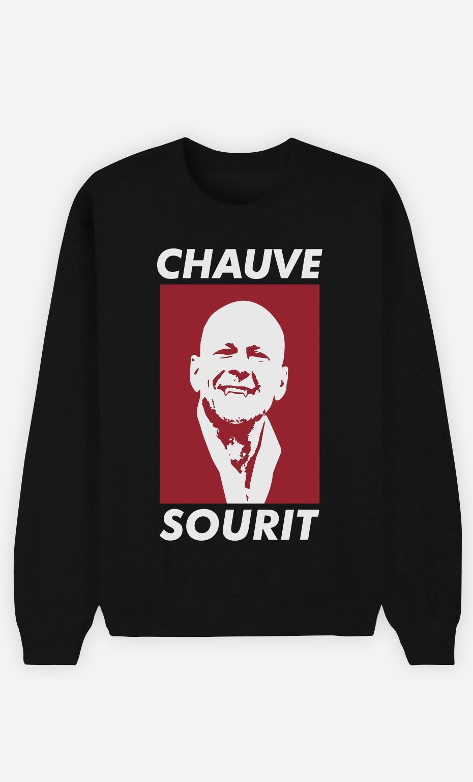 Sweat Femme Chauve Sourit