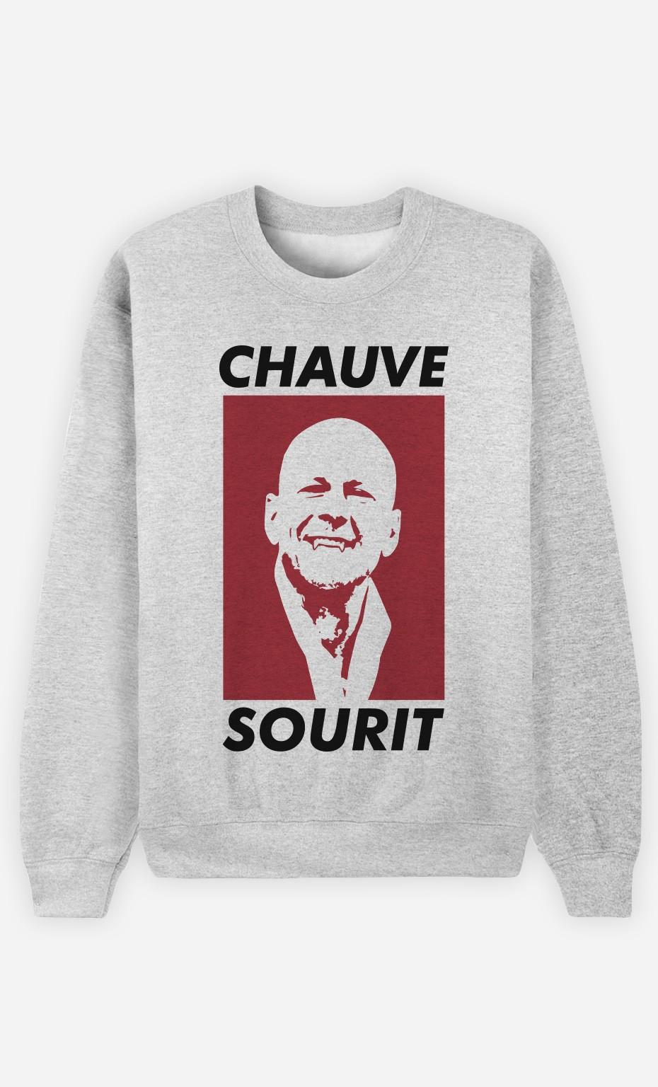 Sweat Chauve Sourit