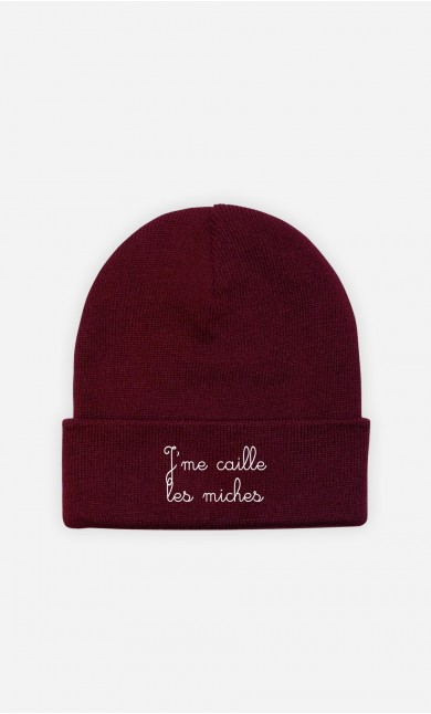 Bonnet J'me Caille les Miches