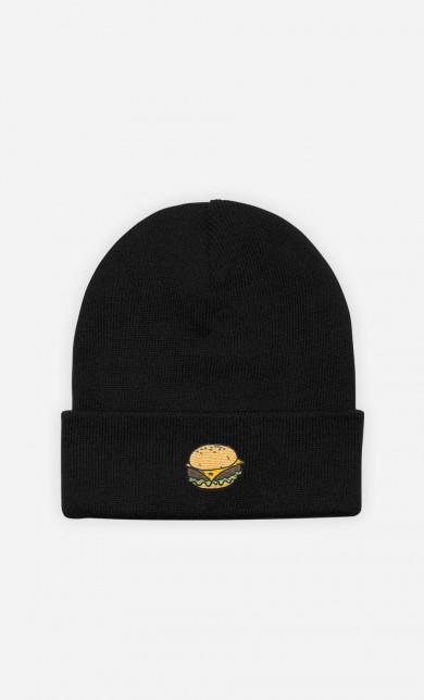 Bonnet Burger - brodé