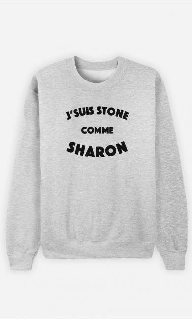 Sweat J'suis Stone comme Sharon