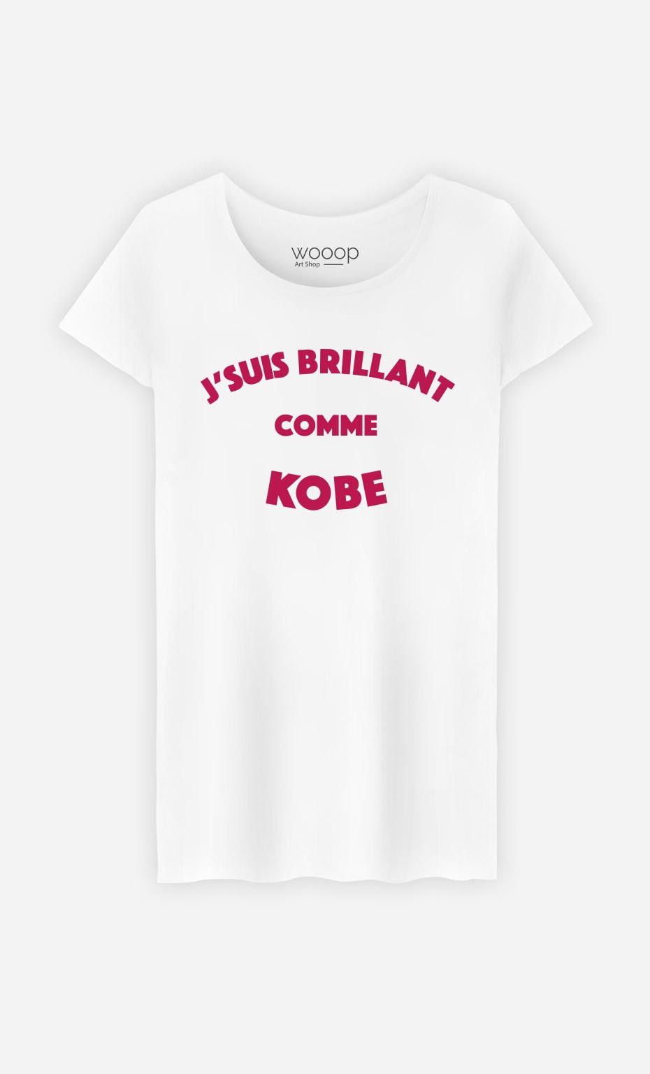 T-Shirt Femme J'suis Brillant comme Kobe