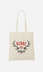 Tote Bag Renne des Neiges
