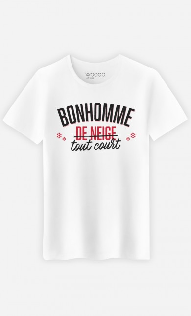 T-Shirt Bonhomme de Neige Tout Court