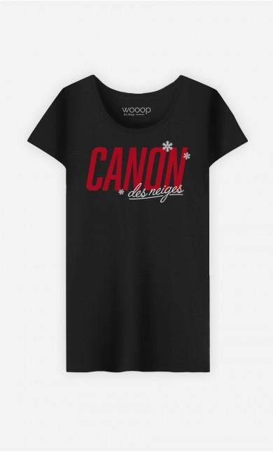 T-Shirt Femme Canon des Neiges