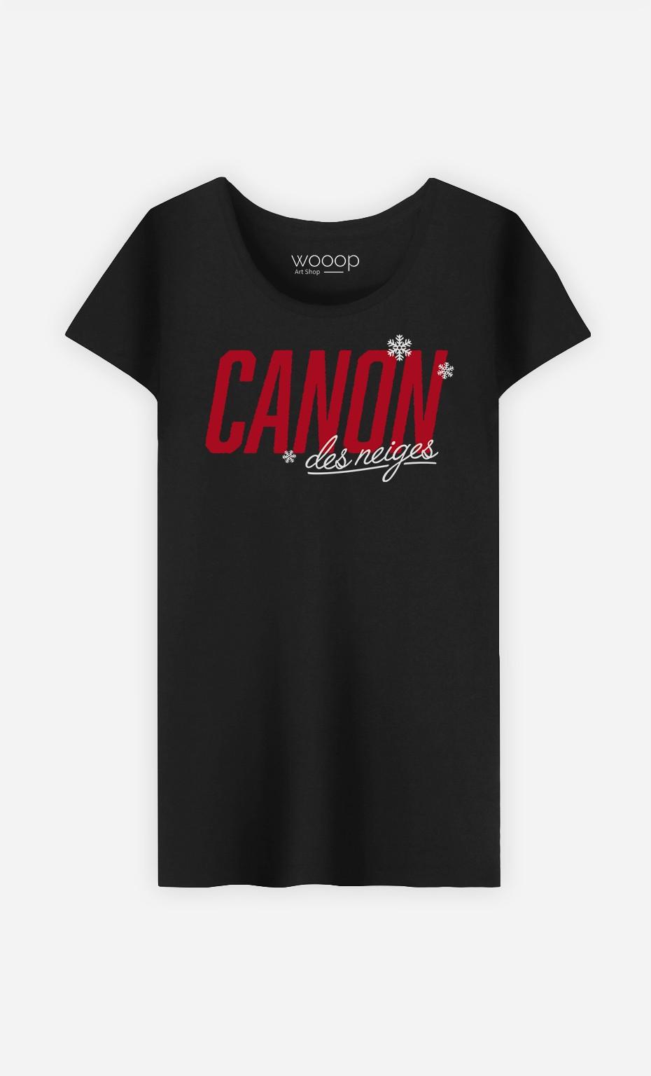 T-Shirt Canon des Neiges