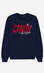 Sweat Bleu Canon des Neiges