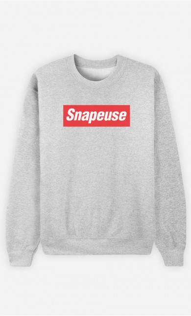 Sweat Femme Snapeuse