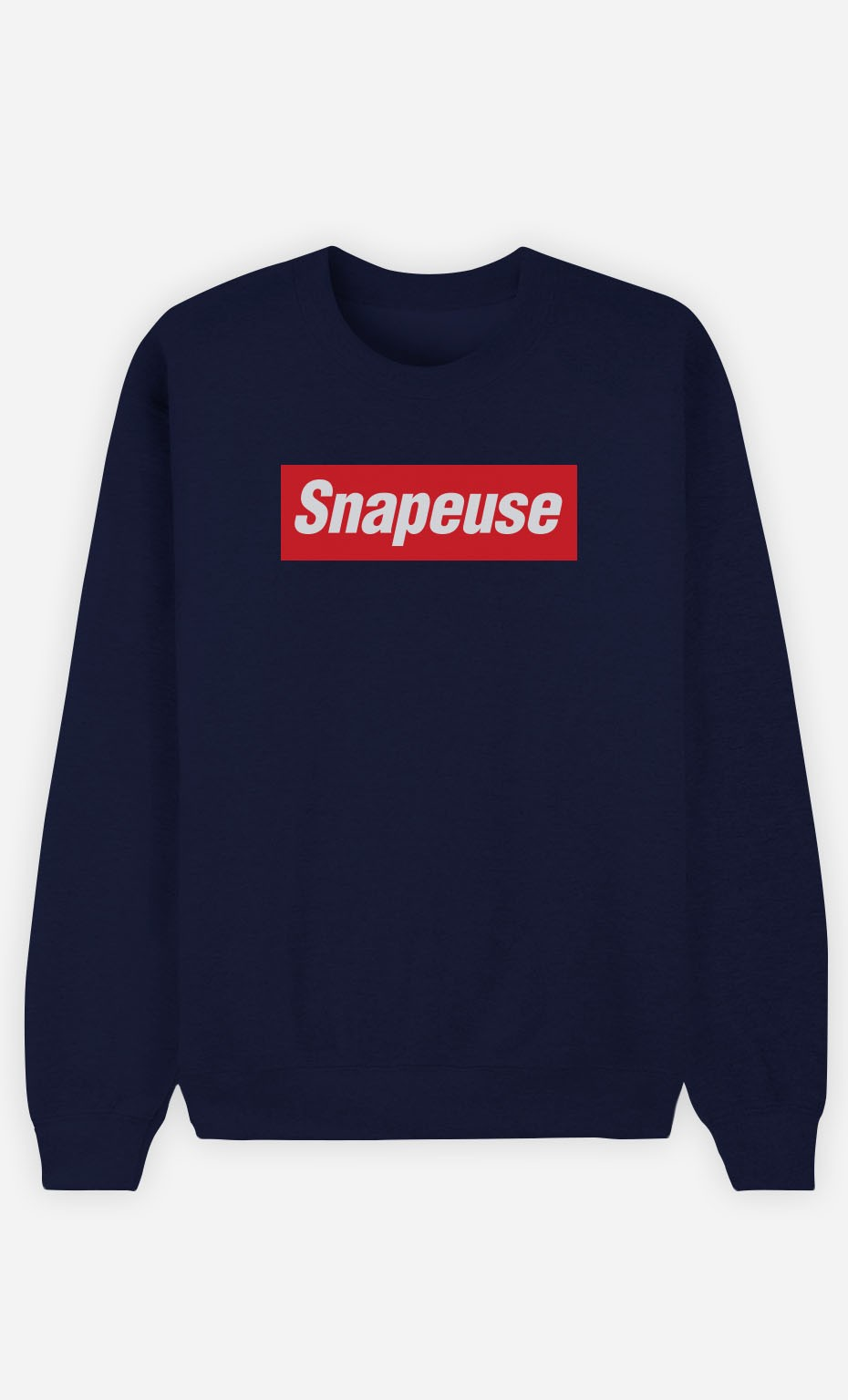 Sweat Bleu Snapeuse