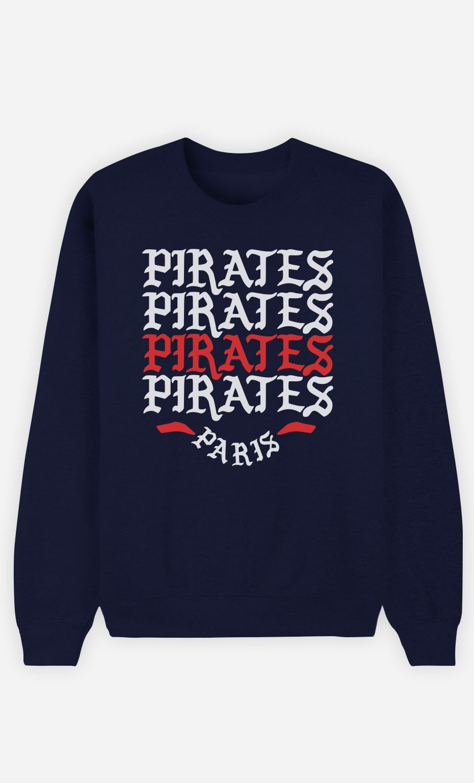 Sweat Femme Pirates Paris
