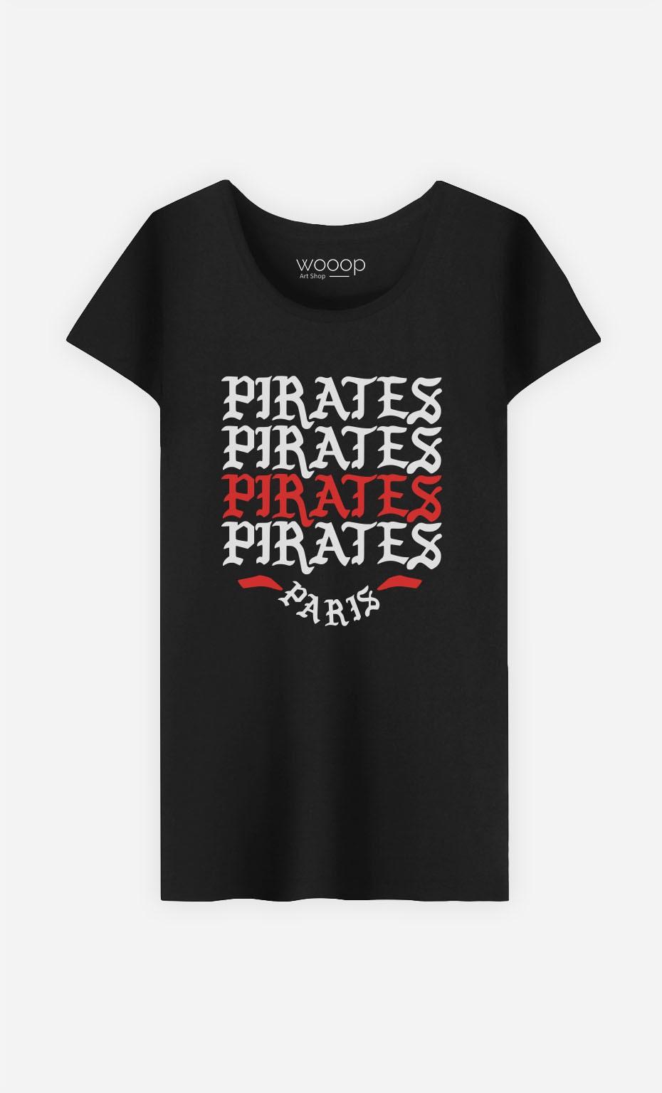 T-Shirt Femme Pirates Paris