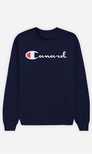 Sweat Bleu Canard